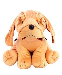 DealBindaas Boxer Doggy Soft Toy Brown (Color May Vary) - 20 cm