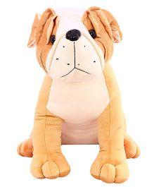 DealBindaas Pug Soft Toy Cream - 30 cm