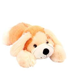 DealBindaas Lying Puppy Soft Toy - 70 cm (Colours may Vary)