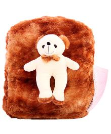 DealBindaas Plush Teddy Bag Brown (Colour may Vary)
