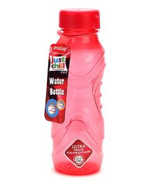 Pratap Just Chill Print Water Bottle - Red