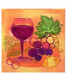 IHR Attractive Tissue Napkins - Multicolour