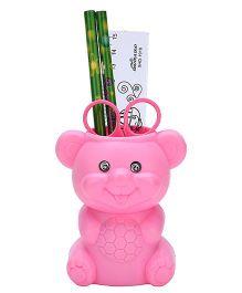 Gifts Worlds Bear Shape Pen Holder - Pink