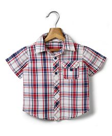 Beebay Half Sleeves Check Shirt - Multicolor