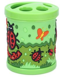 Gifts World Embossed Butterfly Pen Holder - Green