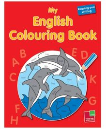 Sterling - My English Colouring Book Reading And Writing