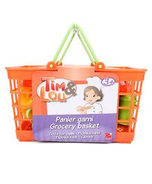 Hamleys Tim And Lou Vegetable Basket - 20 Pieces