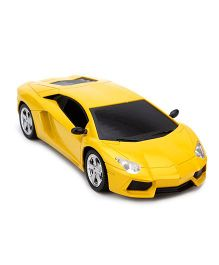 Majorette Full Function Remote Controlled Car Toy - Yellow