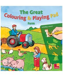 Sterling - Farm The Great Colouring And  Playing Pad