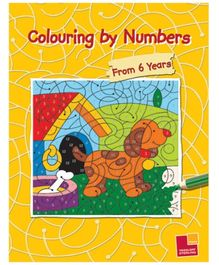 Sterling - Colouring By Numbers Book