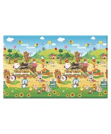 Dwinguler Sound Playmat Music Parade Print - Multi Color