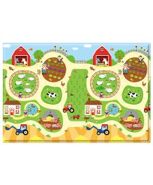 Babycare Playmat Farm Print - Multi Color