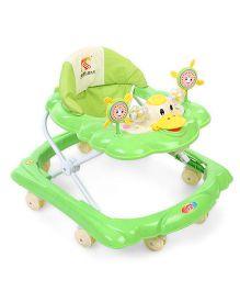 Baby Walker Duck Shape Design - Green