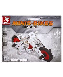 Toy Kraft Minis Bike Construction Set - 42 Pieces