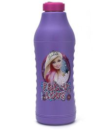 Barbie Thermo Sipper Water Bottle Purple - 550 ml
