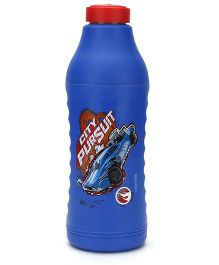 Hot Wheels Thermo Sipper Water Bottle Blue - 550 ml