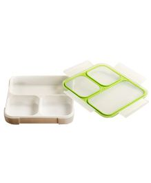 Wonderchef Ultra Lunch Box - Green