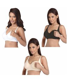 Morph Maternity Leak Proof Bra B Cup - Pack Of 3