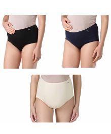 Morph Maternity Hygiene Panties Pack Of 3 - Multi Color