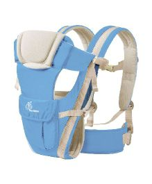 R for Rabbit Cuddle Snuggle Comfortable Baby Carrier - Blue