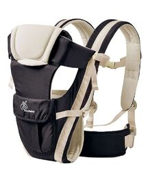 R for Rabbit Cuddle Snuggle Comfortable Baby Carrier - Black And Cream