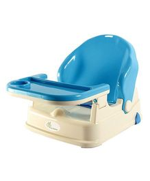 R for Rabbit Jelly Bean Portable Booster Chair - Blue White