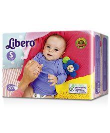Libero Open Diaper Small - 20 Pieces