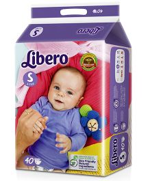 Libero Open Diapers Small - 40 Pieces