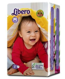 Libero Open Diapers Medium - 5 Pieces