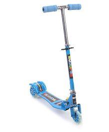 Three Wheel Scooter - Blue