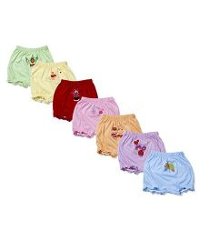 Simply Bloomers Printed Pack Of 7 - Assorted Colors