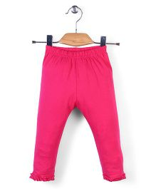 Simply Solid Colour Capri - Pink