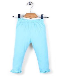 Simply Solid Colour Capri - Sky Blue