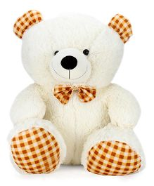 Playtoons Teddy Bear Soft Toy White - Height 22 Inches