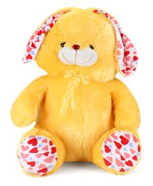 Playtoons Huggable Bunny Soft Toy Yellow - Height 30 Inches
