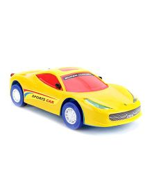 Lovely Friction Car Toy - Yellow