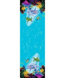 Wanna Party Underwater Theme Party Table Cover - Blue