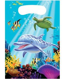 Wanna Party Underwater Theme Party Loot Bags - Pack of 8
