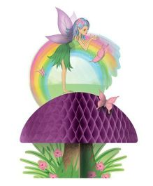 Wanna Party Wonderland Fairy Honeycomb Centerpiece