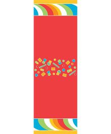 Wanna Party Sugar Candy Table Cover - Red