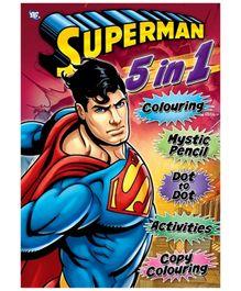 DC Comics Superman 5 In 1 Jumbo Activity Book