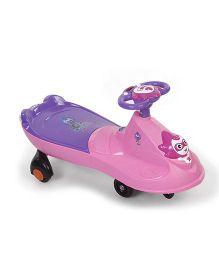 Twister Car Sea Captain Face Design - Pink Purple