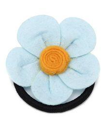Chotee Gia Flower Design Rubberband - Blue