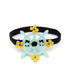 Chotee Sailor Wheel Hairtie or Bracelet - Light Blue
