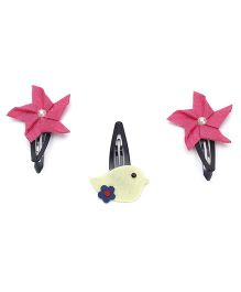 Chotee Pair Of Pin Wheel And Birdie TicTac - Pink & Yellow