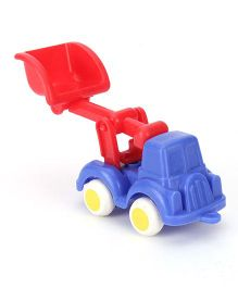Viking Construction JCB Modern Toy Truck - Red Blue