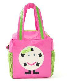 Li'll Pumpkins Smile Cube Bag - Pink