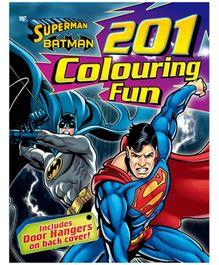 DC Comics 201 Colouring Fun Superman And Batman