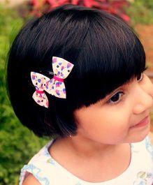 Pigtails And Ponys Bloom Bows Hair Clip - Pink & Blue