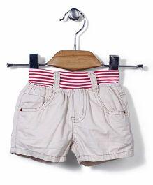 Little Denim Store Shorts - Brown